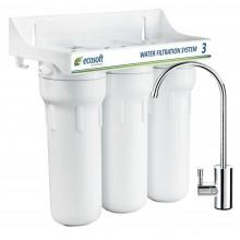 Тройная система очистки воды Ecosoft