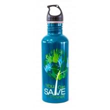 Бутылка Ecosoft зеленая, 1 л