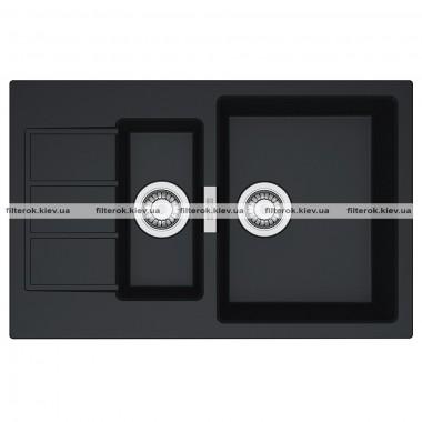 Кухонная мойка Franke Sirius S2D 651-78 (143.0632.385) черный
