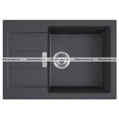 Кухонная мойка Franke Sirius 2.0 S2D Slim 611-62 (143.0631.535) черный