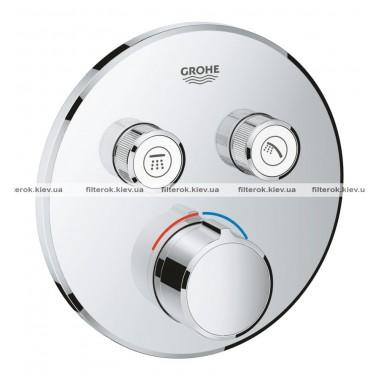 Grohe SmartControl Смеситель скрытого монтажа с двумя кнопками управления (29145000)