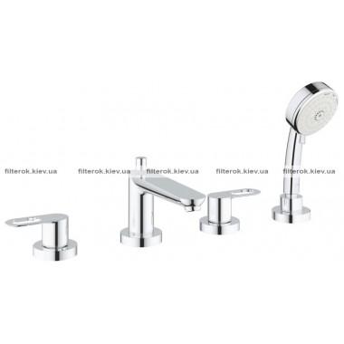 Grohe BauLoop Комплект для ванны на 4 отверстия (2511900A)