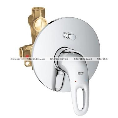 Grohe Eurostyle Смеситель однорычажный для ванны, скрытого монтажа (33637003)