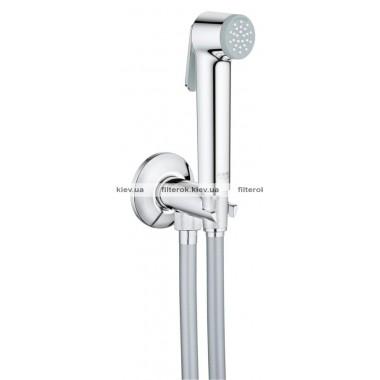 Grohe Tempesta-F Trigger Spray 30 Душевой набор с угловым вентилем, 1 вид струи (26358000)