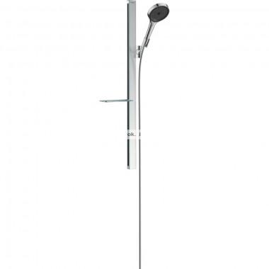 Душевой набор hansgrohe Rainfinity 130 3jet с душевой стойкой 90 см и мыльницей 27671000