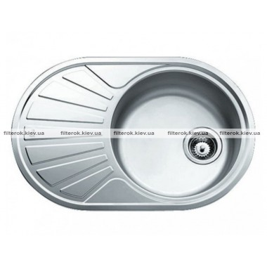 Кухонная мойка Teka DR 77 1B 1D (40127301) нержавеющая сталь