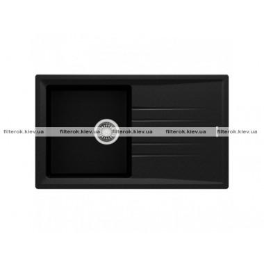 Кухонная мойка Teka STONE 50 B-TG 1B 1D (115330017) черный металлик
