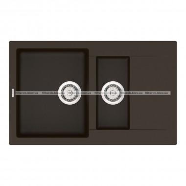 Кухонная мойка VANKOR Orman OMP 04.80 Chocolate