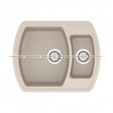 Кухонная мойка VANKOR Norton NMP 03.63 Beige