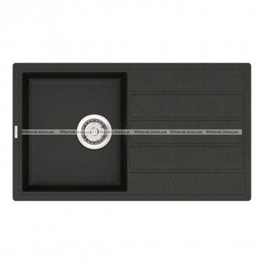 Кухонная мойка VANKOR Easy EMP 02.76 Black