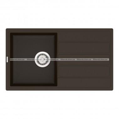 Кухонная мойка VANKOR Easy EMP 02.76 Chocolate