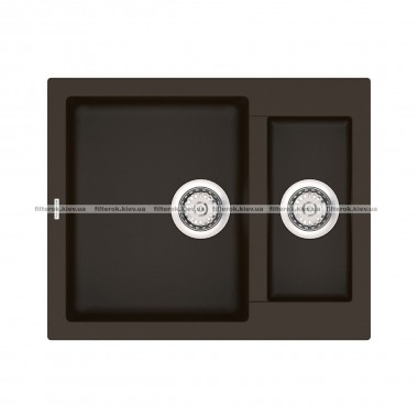 Кухонная мойка VANKOR Orman OMP 03.61 Chocolate