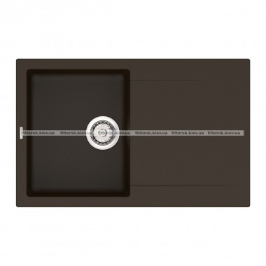 Кухонная мойка VANKOR Orman OMP 02.78 Chocolate