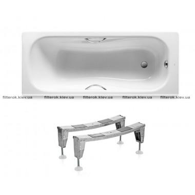 Ванна с ножками 160х75 см ROCA PRINCESS A220370001+A291021000