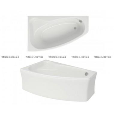Ванна левая 150х100 см CERSANIT SICILIA NEW S301-095