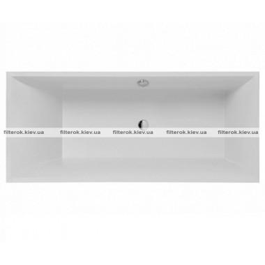 Квариловая ванна 180 см + ножки VILLEROY & BOCH SQUARO UBQ180SQR2V-01